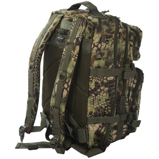 Mil-Tec US Assault Pack Large Laser Cut Mandra Wood