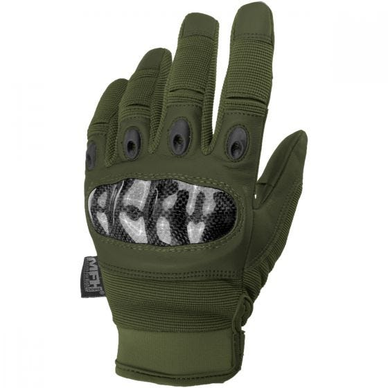 MFH Mission Tactical Gloves OD Green