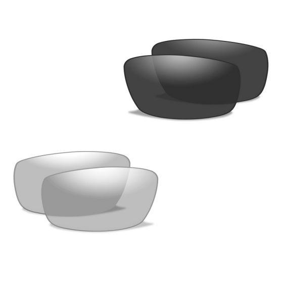 Wiley X XL-1 Advanced - Smoke Gray + Clear Lens / Matte Black Frame