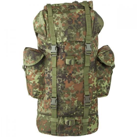 MFH German Army Rucksack 65L Flecktarn
