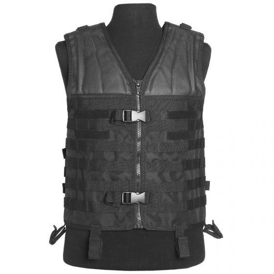 Mil-Tec MOLLE Carrier Vest Black