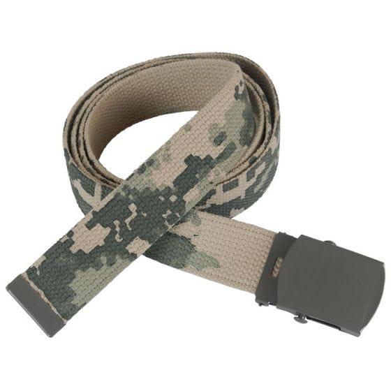 Mil-Tec Webbing Belt ACU Digital