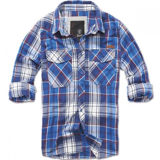 Brandit Check Shirt Navy