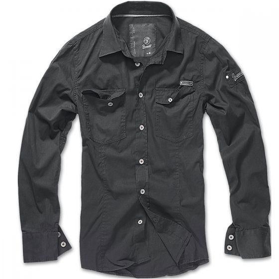 Brandit SlimFit Shirt Black