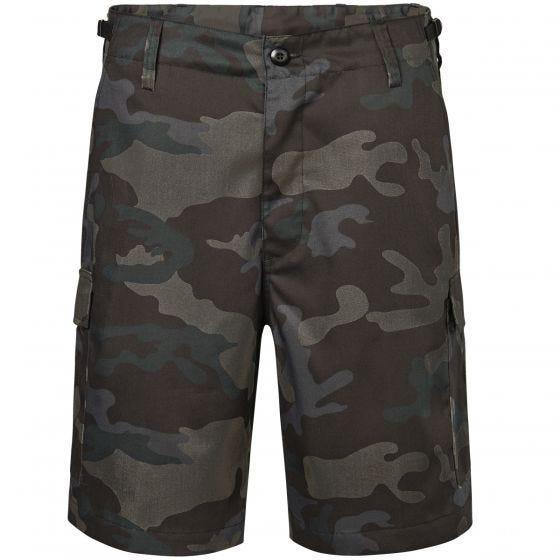 Brandit US Ranger Shorts Dark Camo
