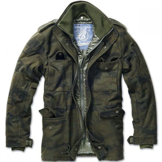 Brandit M-65 Voyager Wool Jacket Woodland