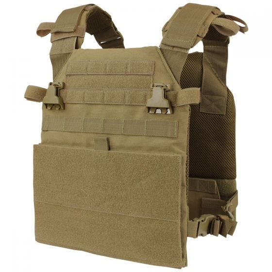 Condor Vanquish Plate Carrier Coyote Brown