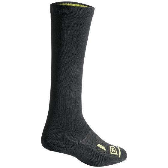 "First Tactical Cotton 9"" Duty Sock 3-Pack Black"