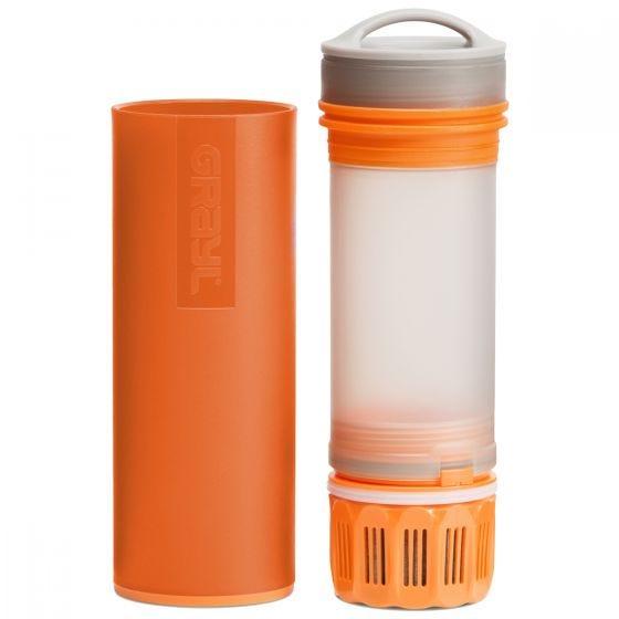 GRAYL Ultralight Water Purifier Bottle + Filter Orange