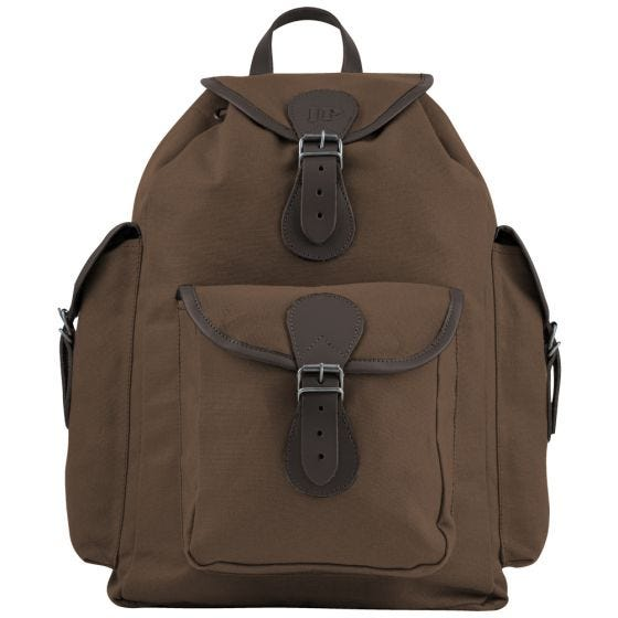 Jack Pyke Canvas Day Pack Brown