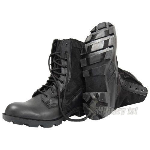 US Jungle Combat Boots Black