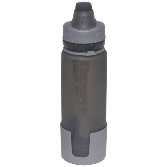 Fox Outdoor Foldable Drinking Bottle Gray