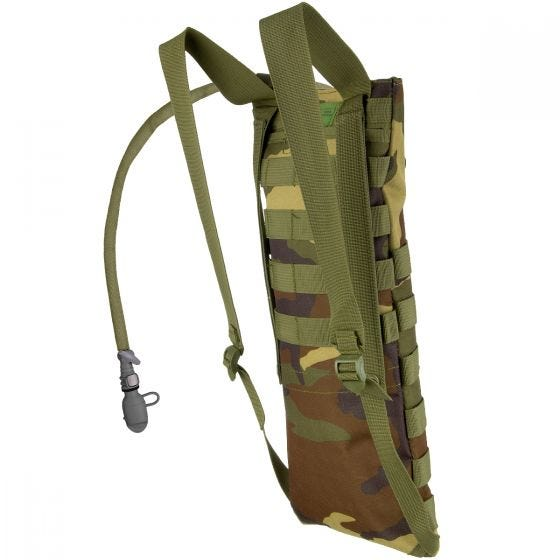 MFH Hydration Bladder and Carrier MOLLE Woodland