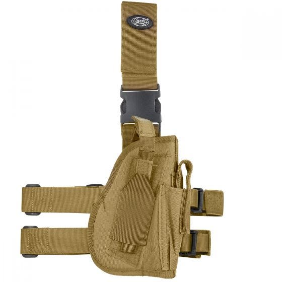 MFH Right Leg Holster Coyote Tan