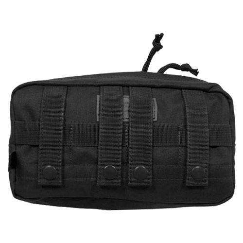 MFH Utility Pouch Large MOLLE Black
