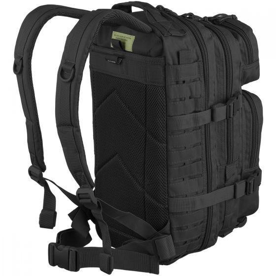 Mil-Tec US Assault Pack Small Laser Cut Black