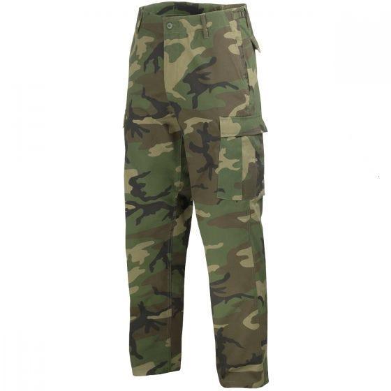 Mil-Tec BDU Ranger Combat Trousers Woodland