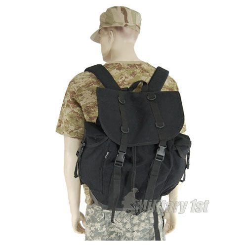 Mil-Tec German Army Mountain Rucksack Black