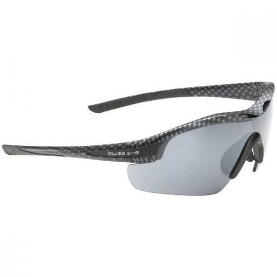 Swiss Eye Sunglasses Novena - 3 Lenses / Carbon Matt Black Frame