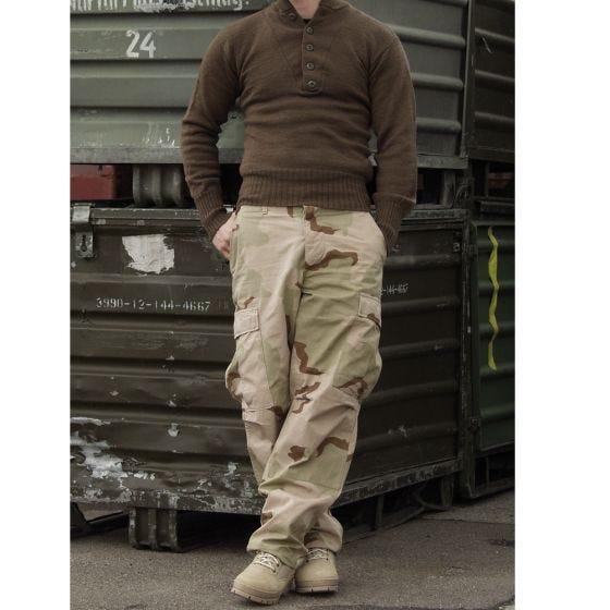 Teesar BDU Trousers Ripstop 3-Color Desert