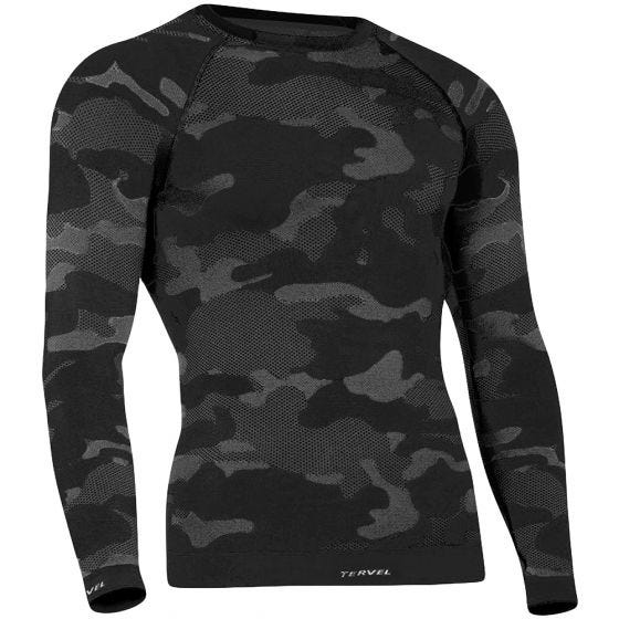 Tervel Optiline Tactical Shirt Long Sleeve Black / Gray