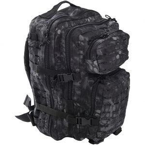 Mil-Tec US Assault Pack Large Laser Cut Mandra Night