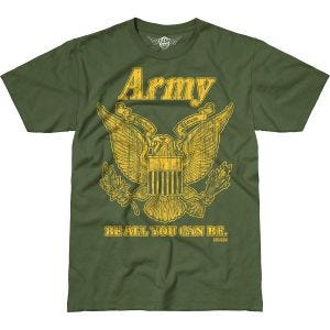 7.62 Design Army Retro Battlespace T-Shirt Military Green