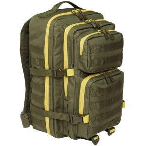 Brandit US Cooper Rucksack Large 2-Colour Olive / Yellow