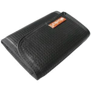 Civilian Tactical Tri-Fold Leather Clip Wallet Black