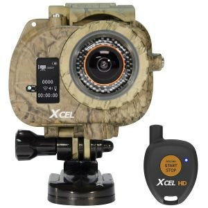 Xcel HD Hunting Edition Camera Carbon