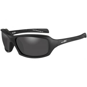 Wiley X WX Sleek Glasses - Smoke Gray Lens / Matte Black Frame
