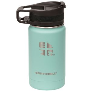Earthwell Roaster Loop Vacuum Bottle 355ml Aqua Blue