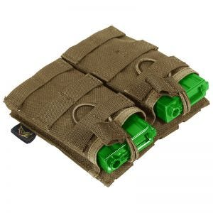 Flyye EV Universal Double Magazine Pouch MOLLE Coyote Brown