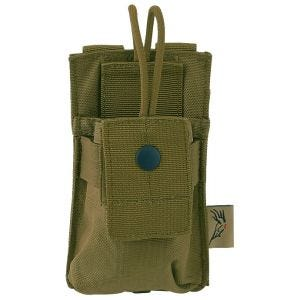 Flyye Short Radio Pouch MOLLE Coyote Brown