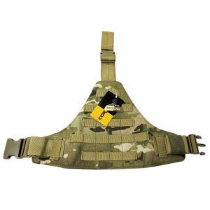 Flyye Triangular Leg Panel MOLLE MultiCam