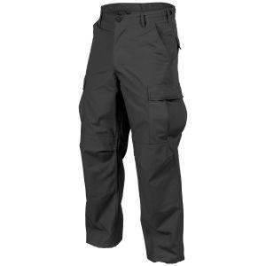Helikon Genuine BDU Trousers Polycotton Ripstop Black