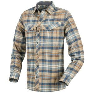 Helikon Defender Mk2 Pilgrim Long Sleeve Shirt Ginger Plaid