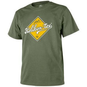 Helikon Road Sign T-shirt Olive Green