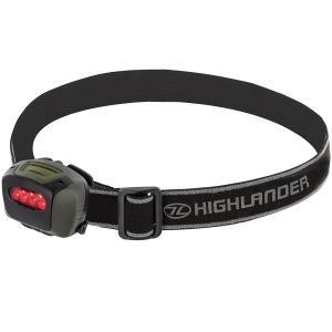 Highlander Mira Head Torch Olive