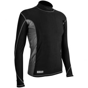 Highlander Men's Pro Comp Long Sleeve Top Black / Gray