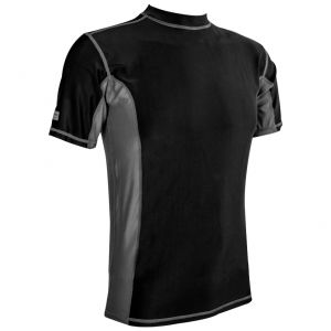 Highlander Men's Pro Comp Short Sleeve Top Black / Gray