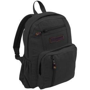 Highlander Salem Canvas 18L Backpack Black