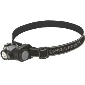 Highlander Shine 3W Cree LED Head Torch Black
