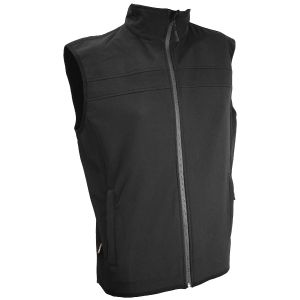 Highlander Soft Shell Gilet Jacket Black