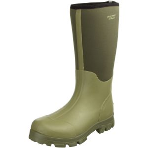 Jack Pyke Ashcombe Neoprene Wellington Boots Light Olive/Green