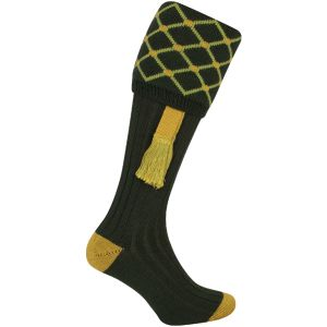 Jack Pyke Diamond Shooting Socks Green