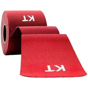 "KT Tape Consumer Cotton Original Precut 10"" Red"