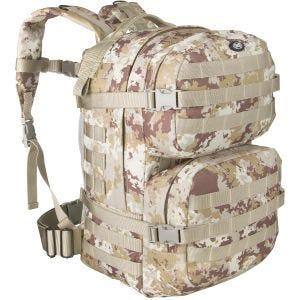 MFH Backpack Assault II Vegetato Desert