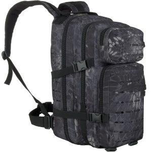 MFH Backpack Assault I Laser Snake Black