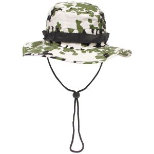 GI Ripstop Bush Hat Snow Camo